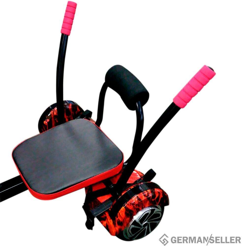hoverboard smartboard sitz hoverkart hoverboard kart. Black Bedroom Furniture Sets. Home Design Ideas