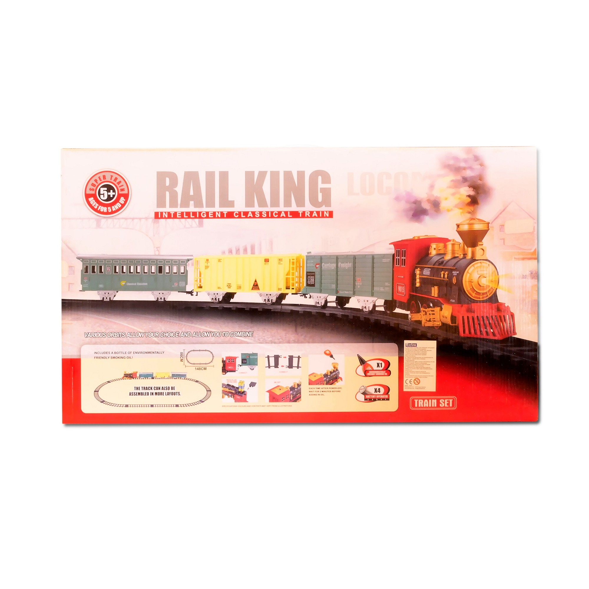 Zugset Rail King 19035c