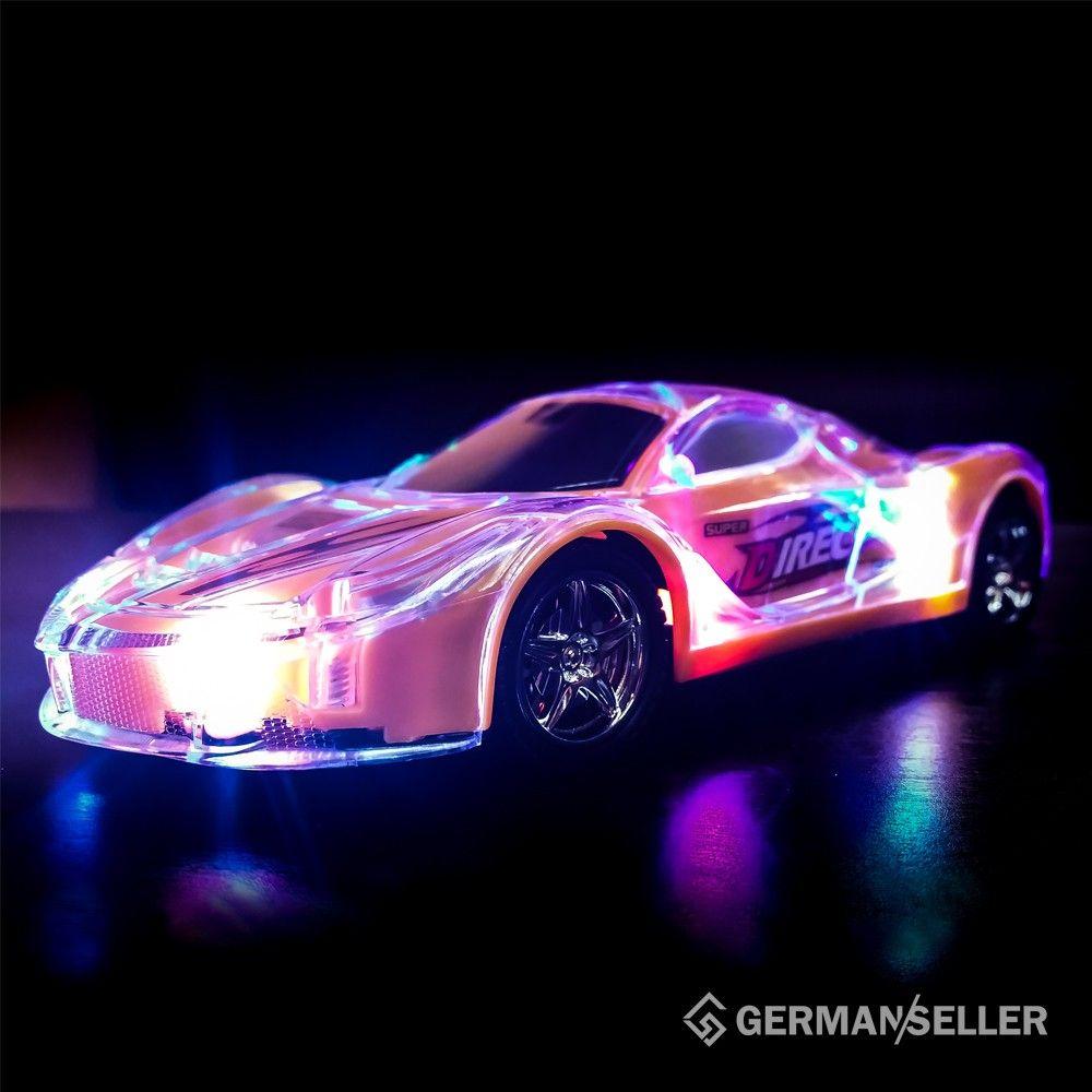 rc auto 3d led licht kabelloses ferngesteuerte auto. Black Bedroom Furniture Sets. Home Design Ideas