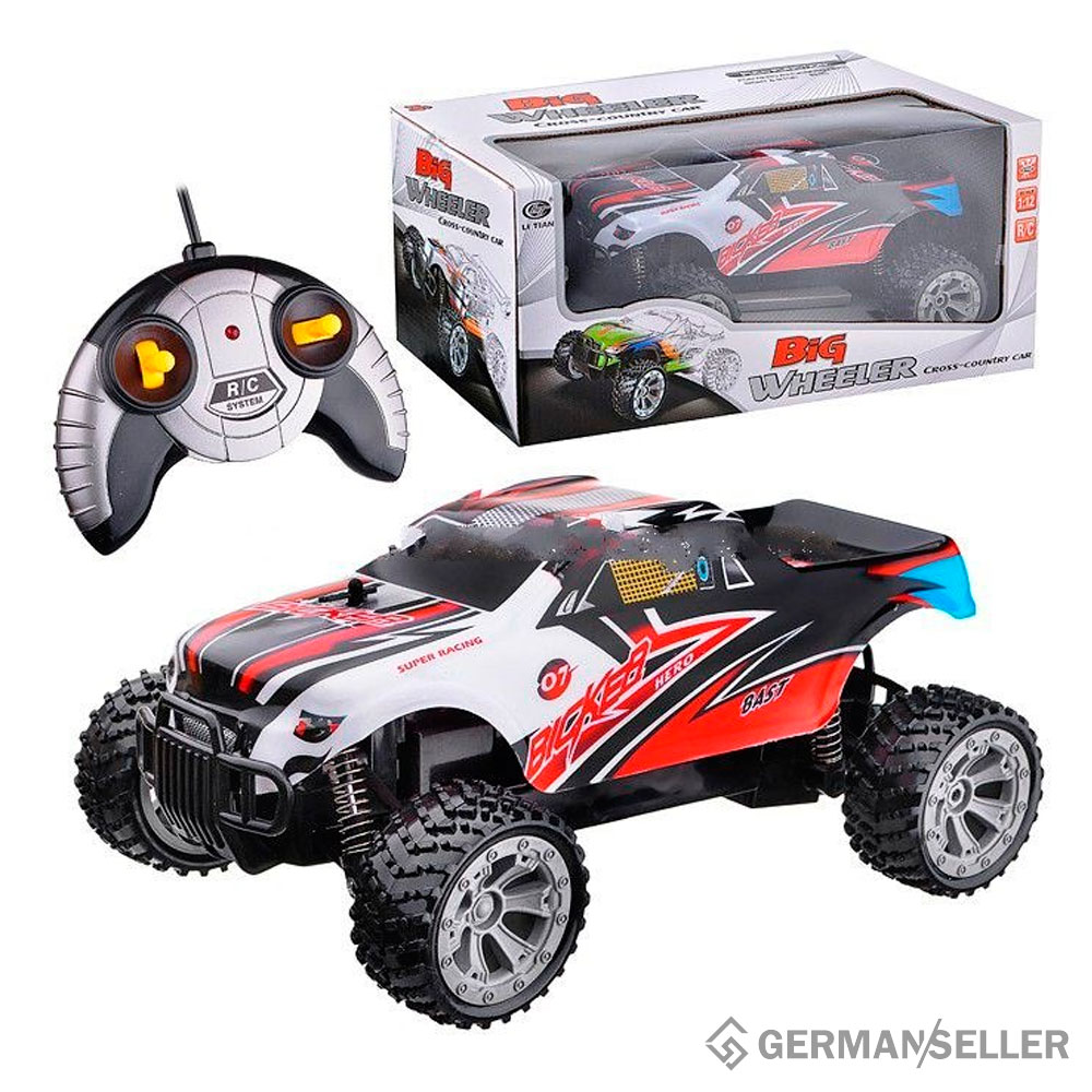 rc ferngesteuerte auto monster truck buggy spielzeug big. Black Bedroom Furniture Sets. Home Design Ideas