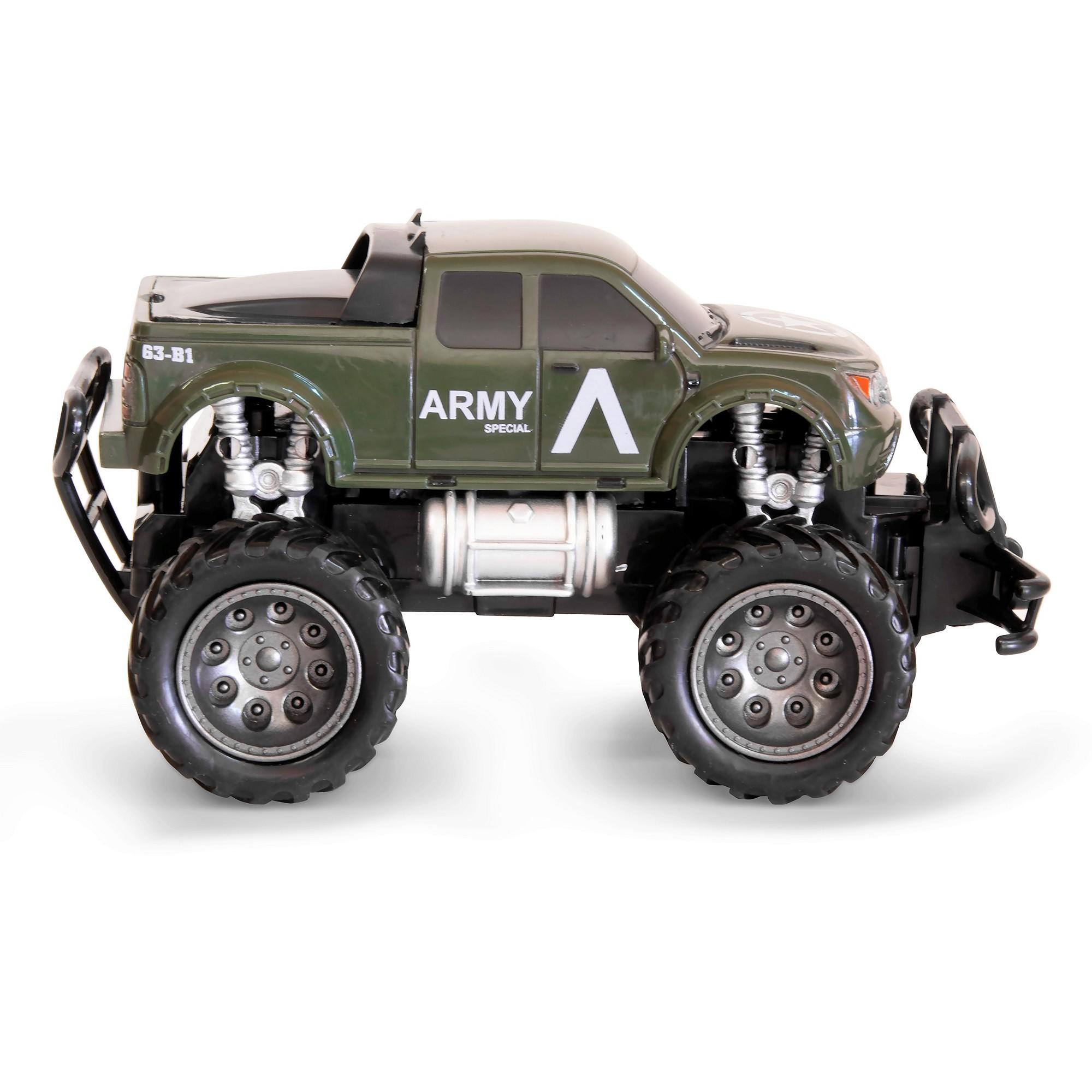 rc ferngesteuertes auto mini monster truck kinder. Black Bedroom Furniture Sets. Home Design Ideas