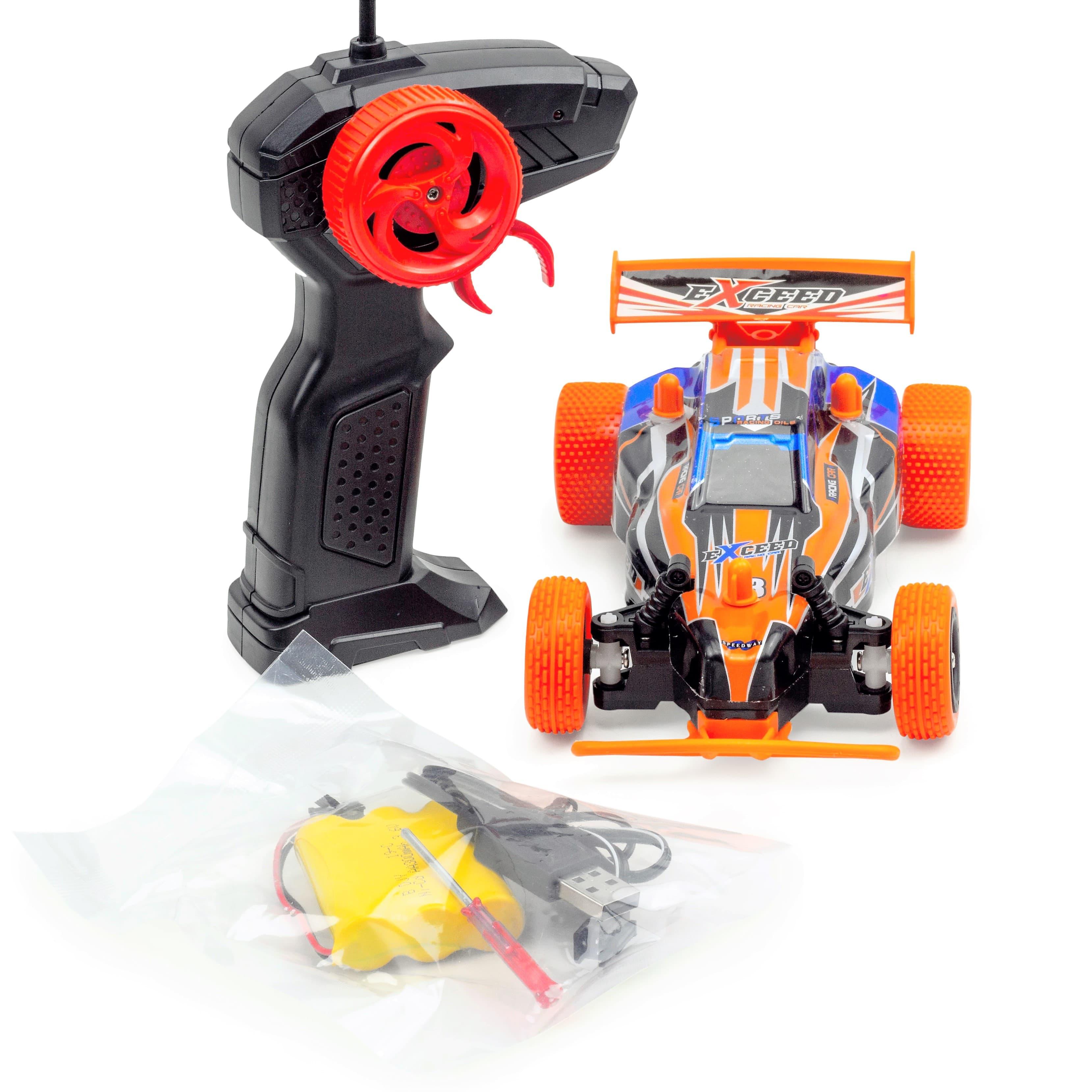 Ferngesteuertes RC Auto Spielzeug kleines 19 cm. Buggy für