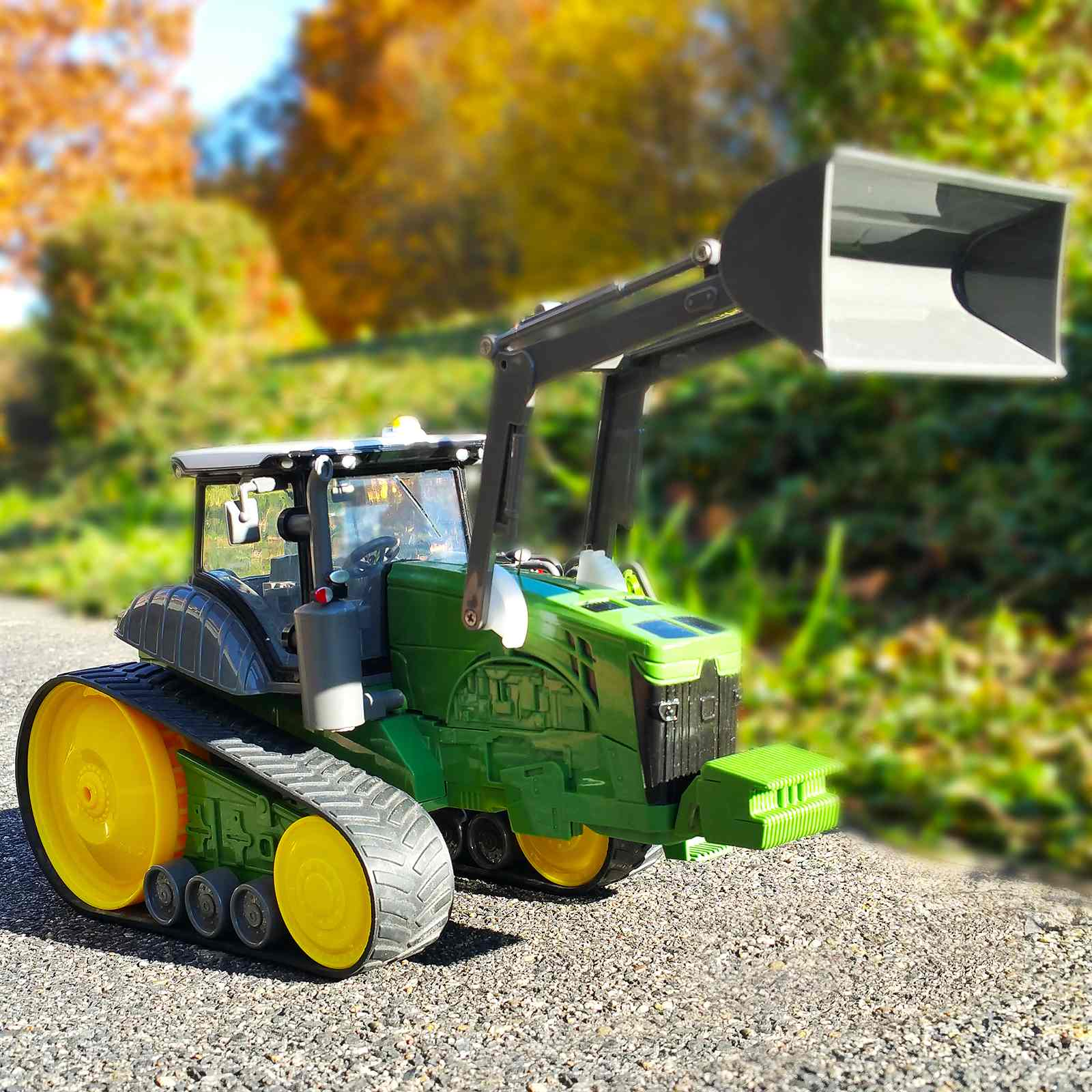 Rc ferngesteuerte kettenfahrzeug kinder spielzeug traktor