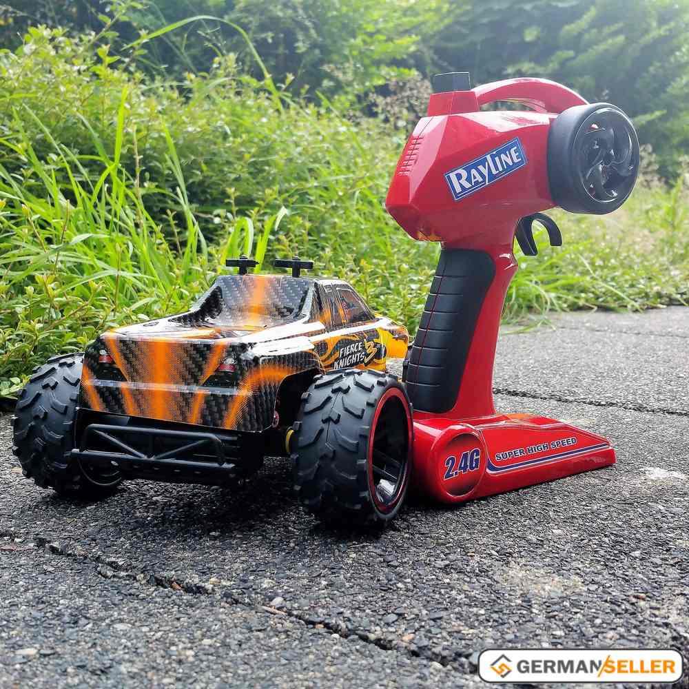 rc remote controlled car monster truck car kids toys rr16d. Black Bedroom Furniture Sets. Home Design Ideas