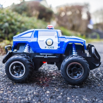 RC Mini Rock Crawler cross Country Monster Truck POLICE