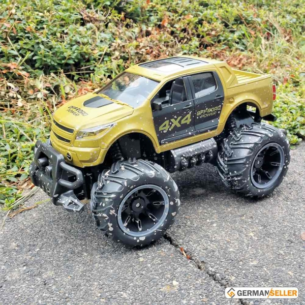 rc ferngesteuertes auto monstertruck car gel ndewagen. Black Bedroom Furniture Sets. Home Design Ideas