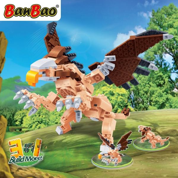Kinder Geschenk Konstruktion Spielzeug Bausteine Baukästen Flugsaurier Banbao