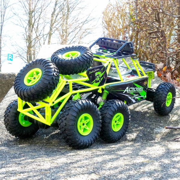 spielzeug monster truck ferngesteuertes rc auto rock crawler allradantrieb buggy ebay. Black Bedroom Furniture Sets. Home Design Ideas