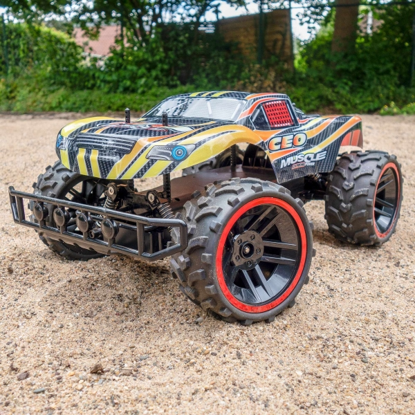 rc ferngesteuertes auto monster truck offroad rennauto spielzeug rayline rr08b ebay. Black Bedroom Furniture Sets. Home Design Ideas