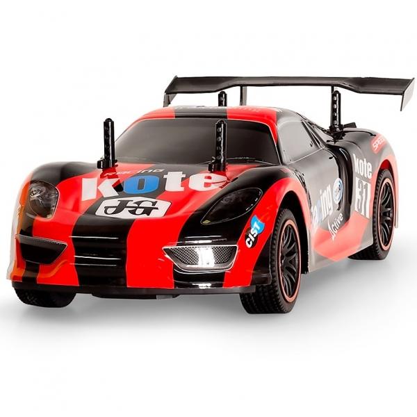 rc ferngesteuertes kabelloses auto 33cm lang rennauto. Black Bedroom Furniture Sets. Home Design Ideas