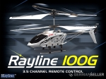 RC Helikopter Rayline R100G 3.5-Kanal Infrarot Hubschrauber Helicopter